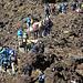 Der erste kleine Anstieg zum Sattel zw. Mt.Tongariro (1967m) und Mt.Ngauruhoe (2287m).
