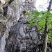 Blick zum Ausstieg der Sentier des Echelles.