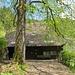 Am ehem. Wälderhof, heute von Wald umzingelt wohl ein Feriendomizil