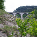 Blick von der Lüegieru Suon zum Lüoglkinn-Viadukt