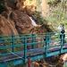 una sorpresa inattesa, la rossa cascata del Crotto Rosso, cosi colorata per la presenza di svariati minerali all'interno della sua sorgente posta più in quota