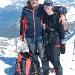 Gipfelglück auf dem Monte Leone bei super Verhältnissen