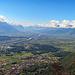 tolle Aussicht übers obere Rheintal