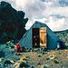 Allgemeiner Erschöpfungszustand an der Mawenzi Hut