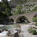 An der Pont roman (Gorges de la Méouge).