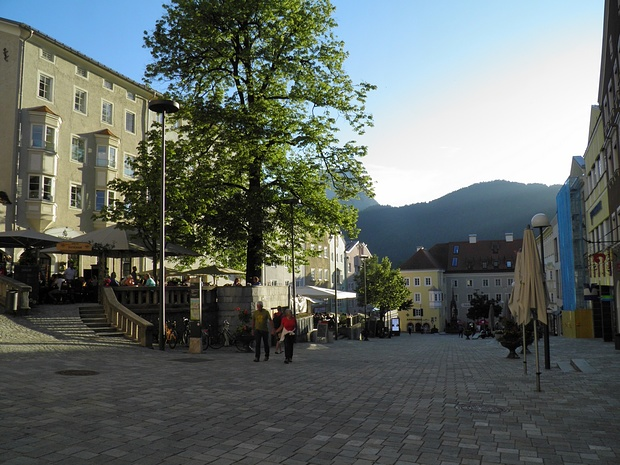 abends im Zentrum von Kufstein