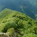 Monte  Pola NW-Kamm abwärts