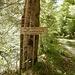 """Etwa 800 Meter weiter östlich hat man den Talausgang des Martinsgrabens erreicht - und das Schild """"Kein Aufstieg zum Brunnenkopf und zur Klammspitze"""". Solche Schilder haben mir schon mehrfach tolle Touren beschert!"""