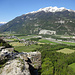 Ruine Alt Appermont mit gutem Ausblick über das Rheintal