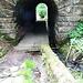 durch diesen kleinen Tunnel