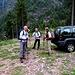 Parcheggio fine strada Alp de Montogn Q1307