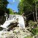 Schöner Wasserfall mit meinen persönlichen Pausentipp: