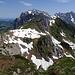 Vom Gipfel Richtung Säntis