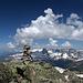 Älpeltispitz (2685 m) Richtung Nordwest / Madrisa