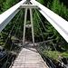 Die tolle Brücke über den Bach vom im Valle di Garzora.