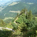 Auf dem Abstieg gegen den Col de Jaman