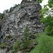 überall beeindruckende Felswände und tiefe Abgründe