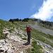Auf dem Weg Richtung Gipfel