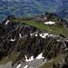 Alp Walpersbärgli mit den beiden Gipfeln der Bremenflue