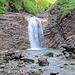 Kurz darauf folgt der zweite grandiose Wasserfall mit Rund 3 Meter Höhe..