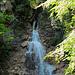 Der letzte, grosse Wasserfall in der Schleifmühleklamm.