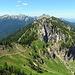 Das Laubeneck so schön und so nah, da kann man einfach nicht anders und so hänge ich diesen Gipfel noch an die Wanderung.