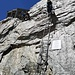 Leiter zur Hütte (ca 6m)