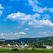 Blick zurück auf die Heidecksburg in Rudolstadt
