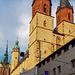 Dies ist nicht, wie irrtümlich angenommen, der Dom zu Halle, sondern die Marktkirche.
