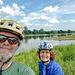 Wo die Saale in die Elbe fließt