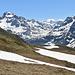 Ofenhorn und die Italienische Berge hinter dem Albrunpass