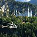 Dieses Photo machte ich 2004 im Militär, als wir mit zwei Super Pumas vorbei flogen - im Hintergrund sieht man den Tegelberggrat.
