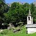Die Kapelle mit dem kleinen hübschen Türmchen, erbaut um 1345.