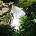 Wasserfall am Ewerk Stahlegg