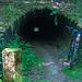 Das eine Ende des Tunnels