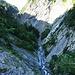 La Morge, so tief unten