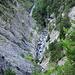 La Morge, beeindruckend wie tief das Flussbett eingeschnitten ist