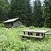 die Jägerhütte auf Bründle ...