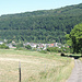 Bald geschafft; unser Zielort Moersdorf ist allerdings nicht im Bild