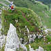 Der Ausstieg des Klettersteiges.