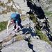 ...die Kletterpartien werden immer interessanter.