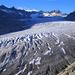 Abendstimmung über dem einst grössten Gletscher der Alpen – 15'000 Jahre ist's her