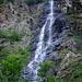 Dal fondovalle mi diverto a fotografare le cascate.