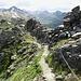 Wanderweg unterhalb von La Brinta.