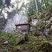 Idyllische Holzhütte