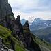 Blick im Aufstieg zum Schärhorn