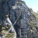 Hängebrücke am Zittergrat und Brunnistöckli