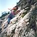 Seit 1964 führt der Klettersteig auf die Punta Fiámes.