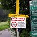 """<b>Dopo la camminata di ieri riprendo la bici per un'importante salita di oltre 1300 m di dislivello fino all'inizio della catena montuosa Kalkkögel, considerata le """"Dolomiti del Nordtirolo"""".<br />La via più diretta parte proprio dall'albergo che mi ospita, tuttavia un cartello con la scritta in rosso """"Achtung!"""" informa che l'itinerario 599 è """"gesperrt"""". Non ci sono state frane e non ci sono lavori in corso, ma semplicemente, così mi ha riferito l'albergatrice, ci sono dei problemi con i """"diritti di passo"""". Tutto il mondo è paese.</b><br />"""