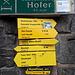 <b>Poco male, allungherò il percorso, a tutto vantaggio della pendenza.<br />Parto alle 9.05 in direzione di Neustift e Mieders, dove imbocco la strada dell'Oberbergtal fino alla deviazione posta a circa 1200 m di quota. Qui abbandono la strada della valle e imbocco alla destra la strada Forchach.</b>